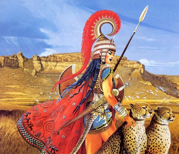 """Bộ tộc nữ binh Amazon chuyên """"săn đàn ông"""" 1"""