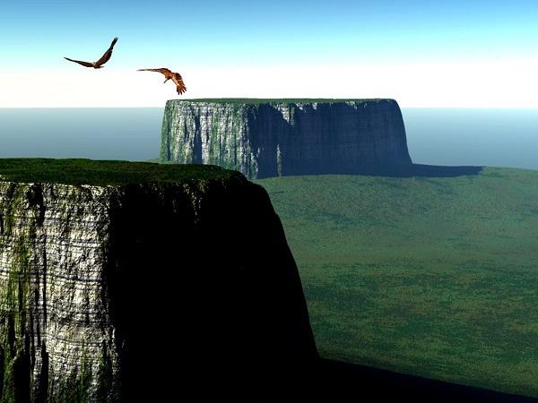 """Khám phá cảnh quan thiên nhiên hùng vĩ trong phim """"Up"""" 1"""