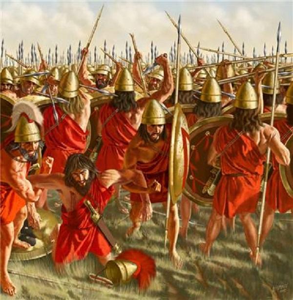 Đội quân đồng tính bất bại thời Hy Lạp cổ đại 1