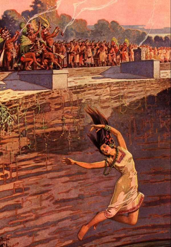 """Thế giới ngầm và tục hiến tế """"lạnh gáy"""" của người Maya 7"""