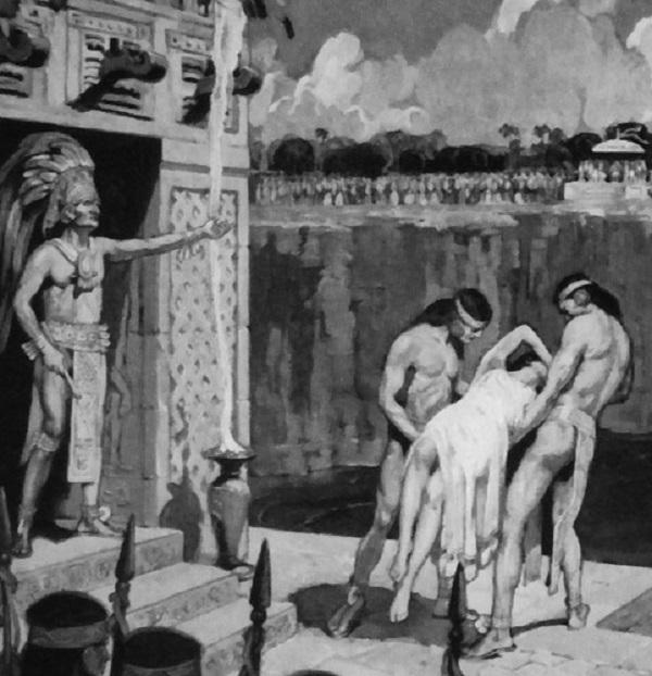 """Thế giới ngầm và tục hiến tế """"lạnh gáy"""" của người Maya 8"""