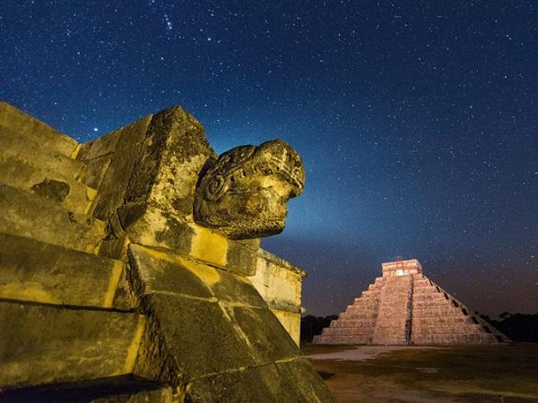 """Thế giới ngầm và tục hiến tế """"lạnh gáy"""" của người Maya 2"""