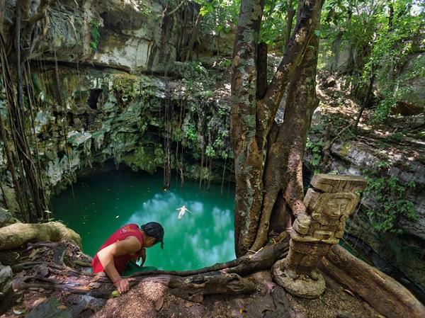 """Thế giới ngầm và tục hiến tế """"lạnh gáy"""" của người Maya 5"""
