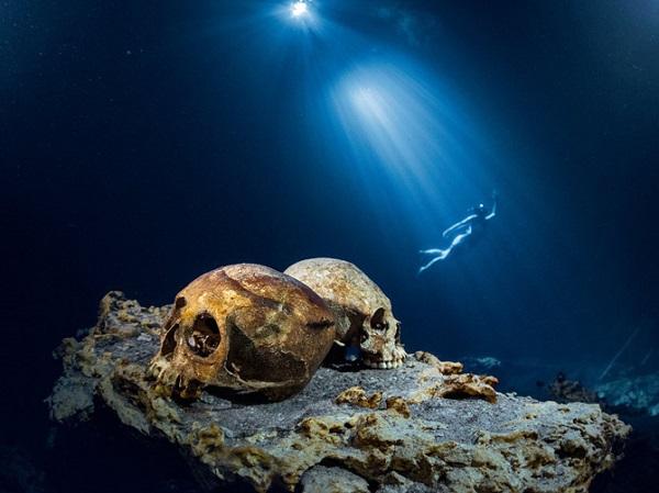 """Thế giới ngầm và tục hiến tế """"lạnh gáy"""" của người Maya 13"""