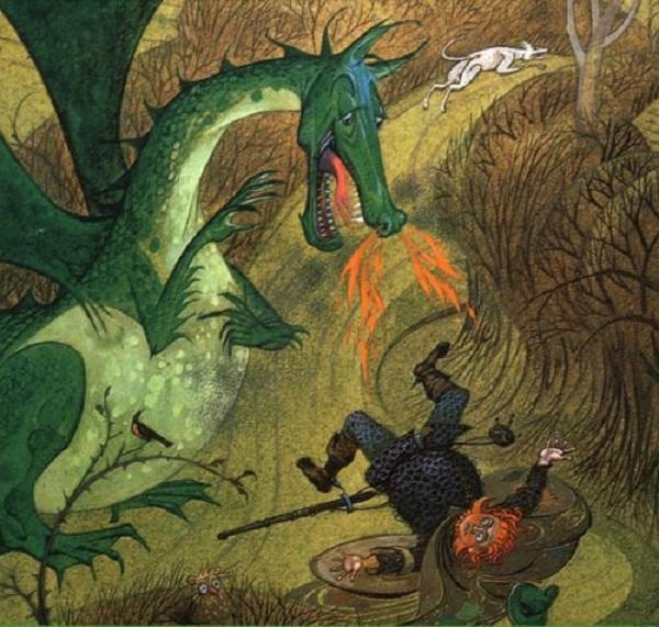 """Những ghi chép về loài rồng """"có thật"""" trong lịch sử 2"""