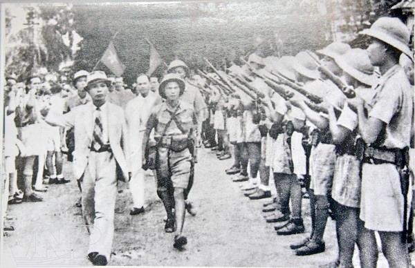 Tư liệu hiếm: Hình ảnh thời trẻ của Đại tướng Võ Nguyên Giáp 5