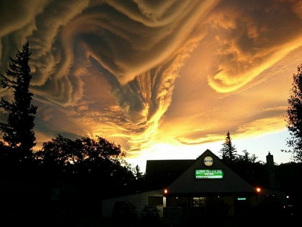 Điềm báo đáng sợ của những đám mây kỳ lạ 11