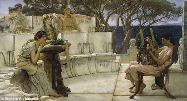Tìm thấy thư tình đồng tính của thi sĩ Hy Lạp cổ đại 3