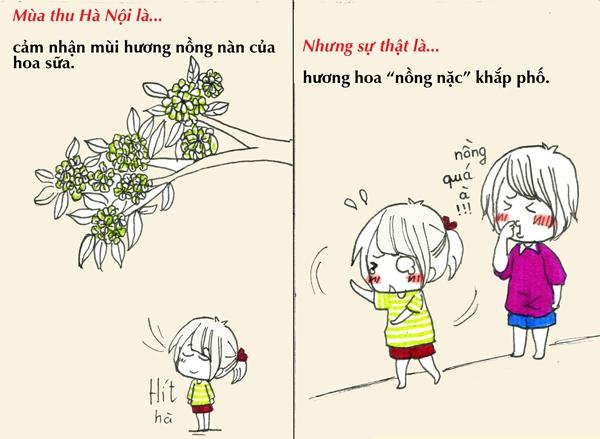 Tranh vẽ: Sự thật về mùa thu mà chỉ người Hà Nội mới hiểu 4