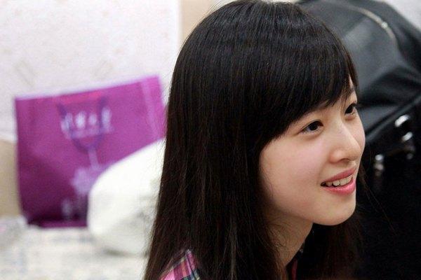 Những hot girl Trung Quốc có vẻ đẹp thiên thần 3
