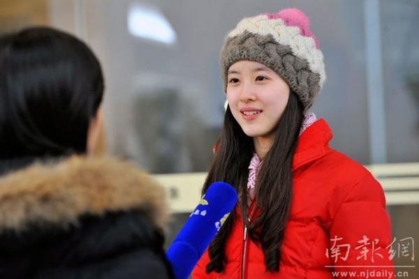 Những hot girl Trung Quốc có vẻ đẹp thiên thần 10