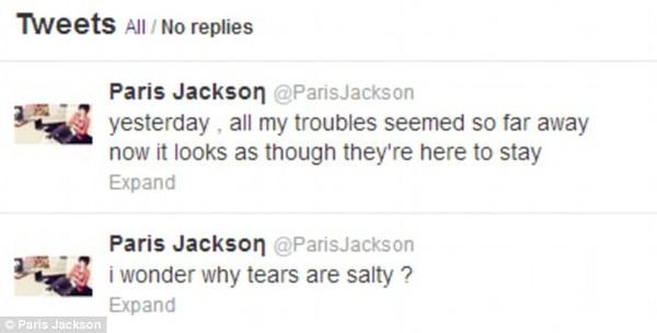Con gái Michael Jackson tự tử 3