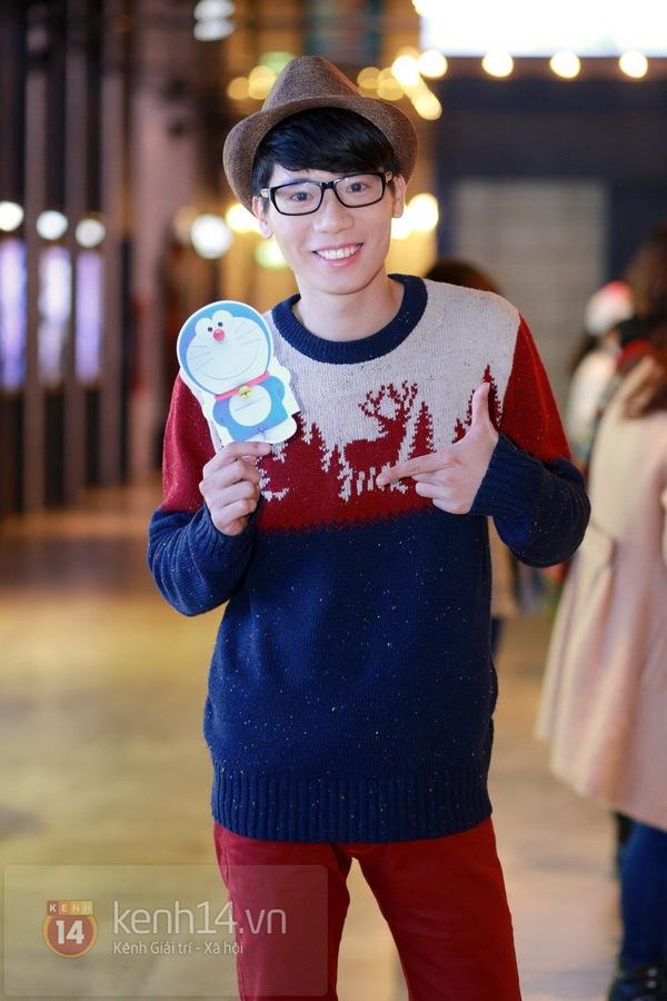 """Thùy Anh (Bộ tứ 10A8) xinh đẹp dự họp báo """"Doraemon"""" 12"""