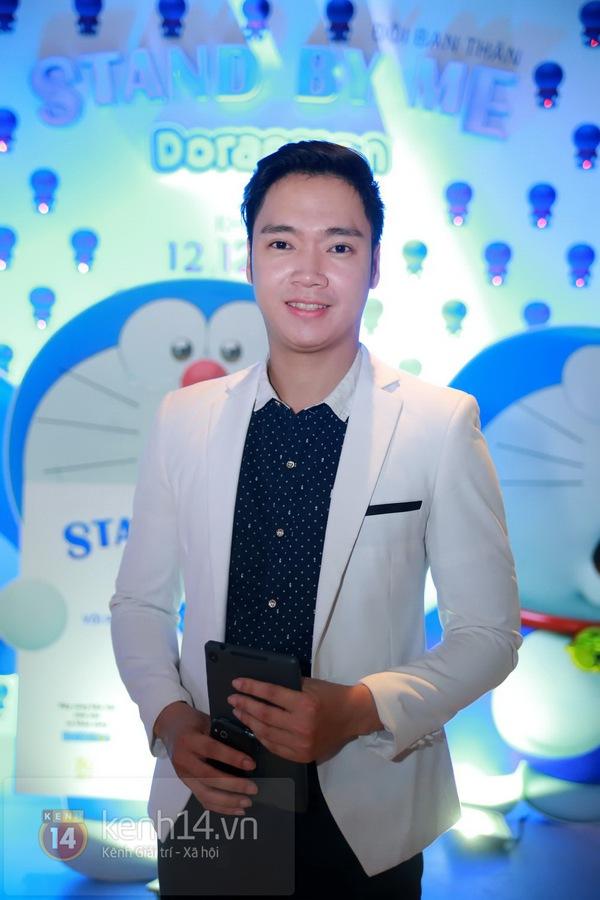 """Thùy Anh (Bộ tứ 10A8) xinh đẹp dự họp báo """"Doraemon"""" 4"""