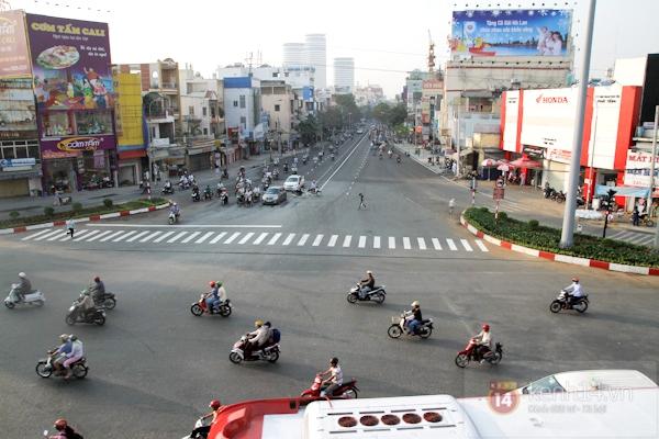 Toàn cảnh lễ thông xe cầu vượt thép đầu tiên tại TPHCM 15