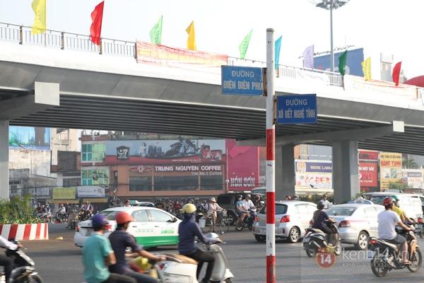 Toàn cảnh lễ thông xe cầu vượt thép đầu tiên tại TPHCM 22