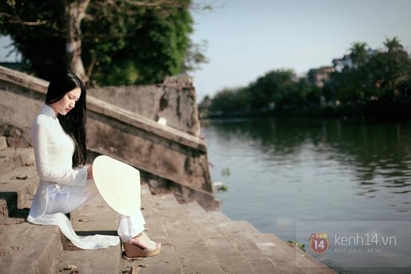 Chùm ảnh: Đẹp như nữ sinh xứ Huế 2