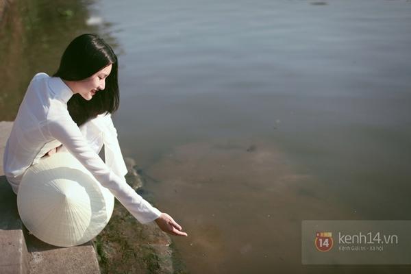 Chùm ảnh: Đẹp như nữ sinh xứ Huế 4