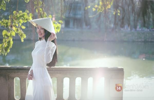 Chùm ảnh: Đẹp như nữ sinh xứ Huế 7