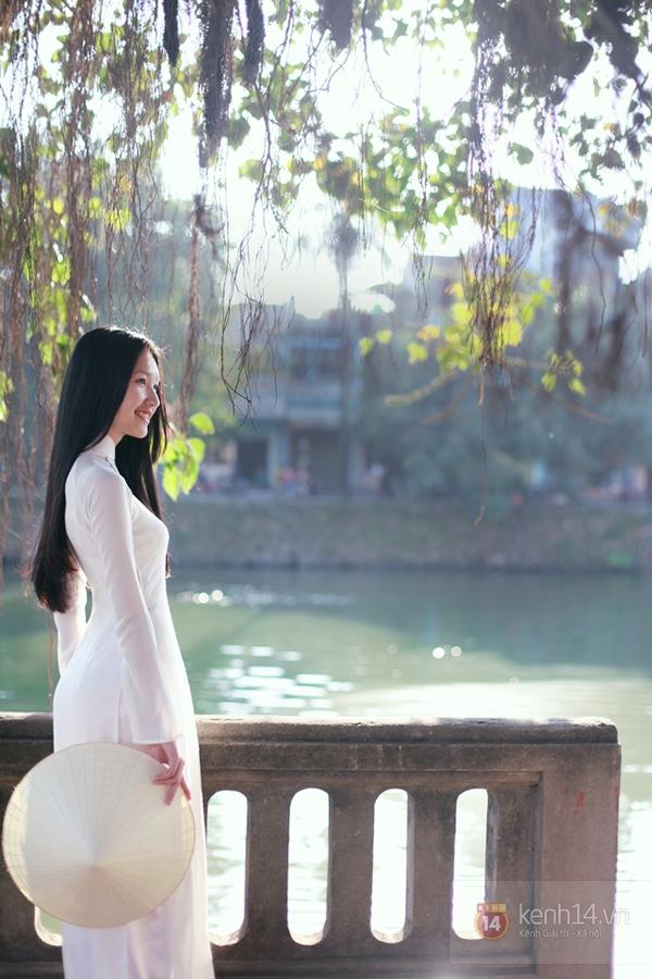 Chùm ảnh: Đẹp như nữ sinh xứ Huế 8