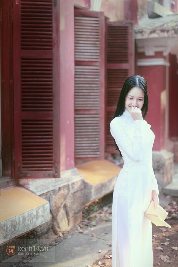 Chùm ảnh: Đẹp như nữ sinh xứ Huế 12