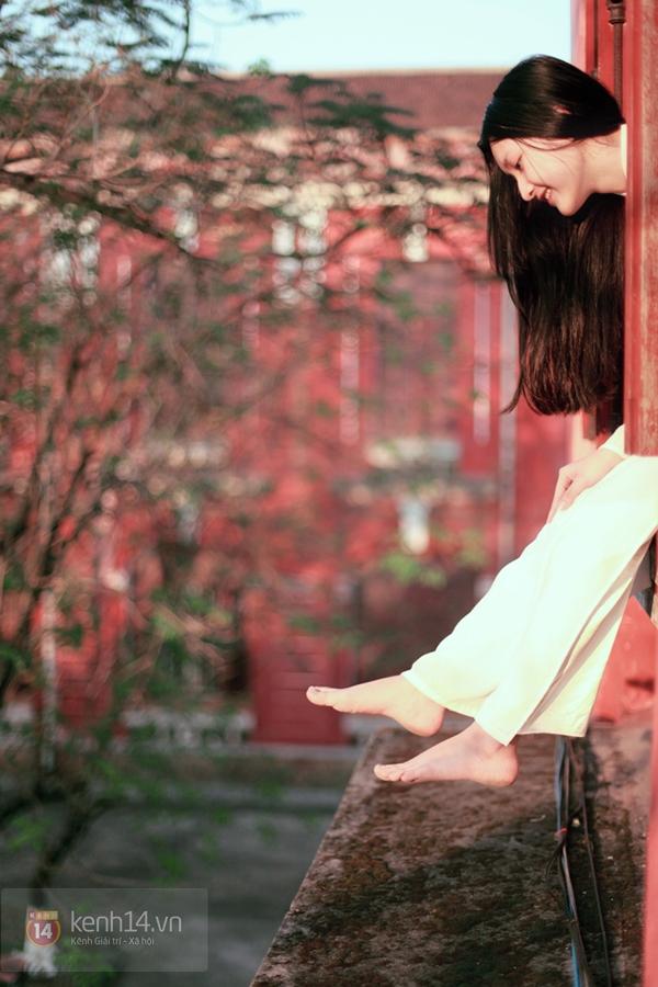 Chùm ảnh: Đẹp như nữ sinh xứ Huế 15