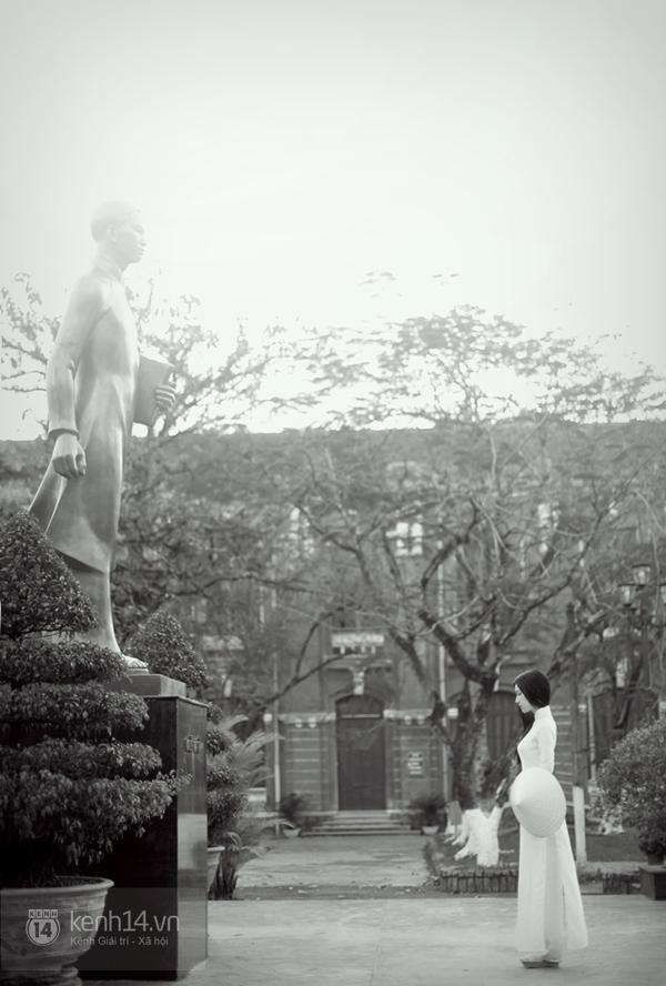 Chùm ảnh: Đẹp như nữ sinh xứ Huế 13