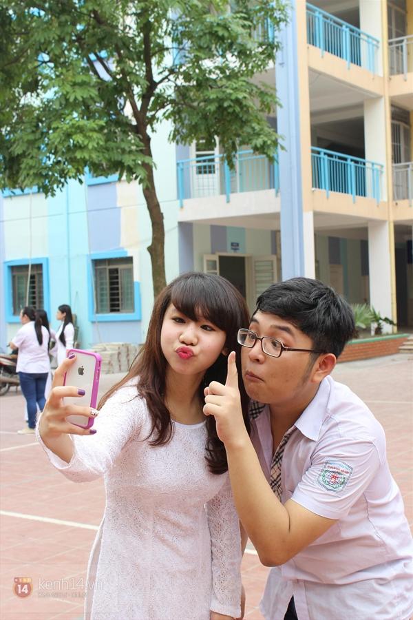 400 học sinh trường Lomonoxop cùng nhau chụp bộ ảnh cuối cùng 8
