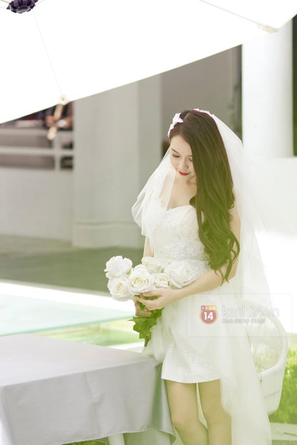 Sam xinh lung linh trong bộ ảnh cưới trước khi lên xe hoa 2