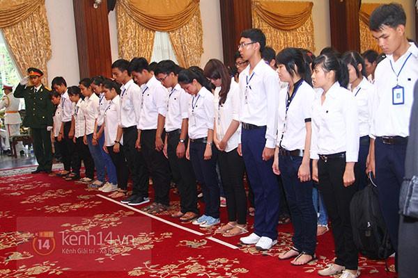 TP.HCM: Không khí trang nghiêm và đầy cảm động trong lễ viếng Đại tướng 65