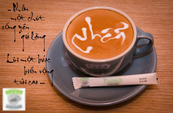 Cực thú vị công việc tạo hình nghệ thuật trên tách cà phê 12