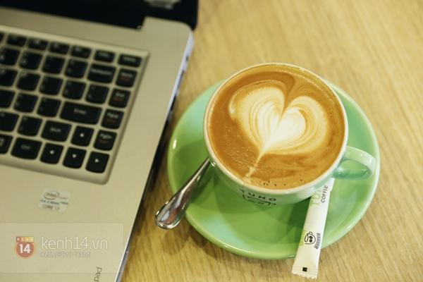Cực thú vị công việc tạo hình nghệ thuật trên tách cà phê 1