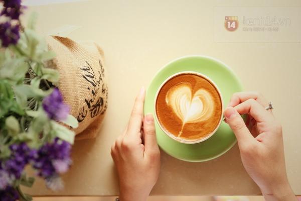 Cực thú vị công việc tạo hình nghệ thuật trên tách cà phê 2