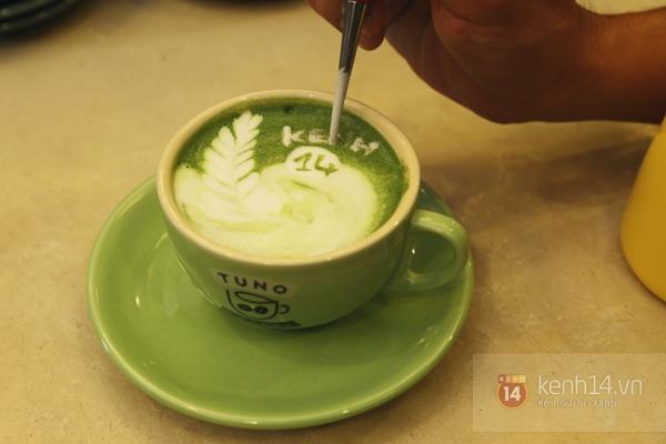 Cực thú vị công việc tạo hình nghệ thuật trên tách cà phê 11