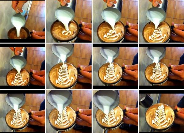 Cực thú vị công việc tạo hình nghệ thuật trên tách cà phê 7