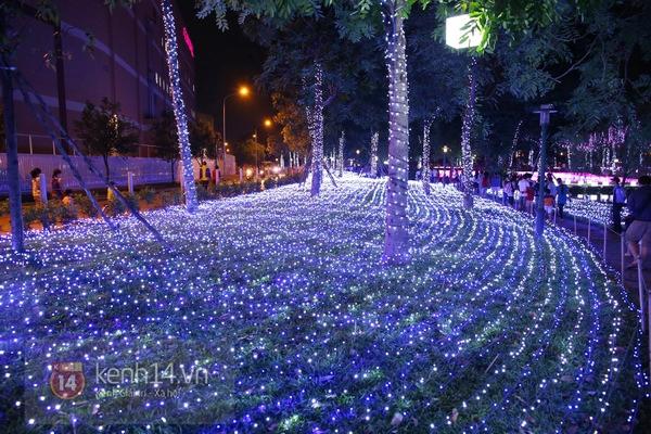 Sài Gòn: Ngỡ ngàng ngắm công viên sáng rực trong đêm với nửa triệu bóng đèn Led 28