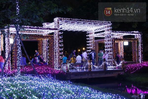 Sài Gòn: Ngỡ ngàng ngắm công viên sáng rực trong đêm với nửa triệu bóng đèn Led 5