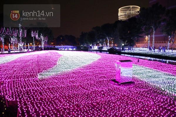 Sài Gòn: Ngỡ ngàng ngắm công viên sáng rực trong đêm với nửa triệu bóng đèn Led 9