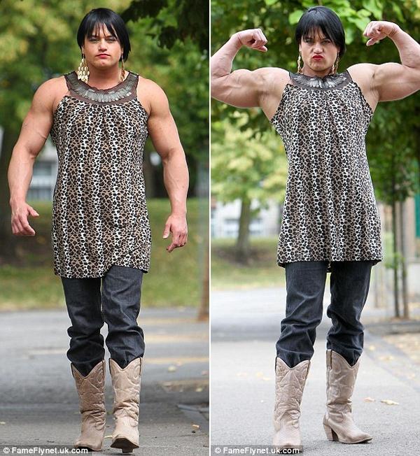Cô gái biến thành đàn ông vì lạm dụng steroid 3