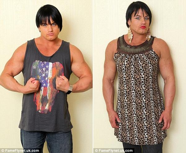 Cô gái biến thành đàn ông vì lạm dụng steroid 4