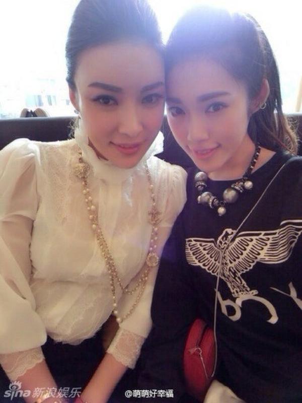 Trung Quốc: Những bà mẹ hot ngang ngửa con gái xinh đẹp của mình 1