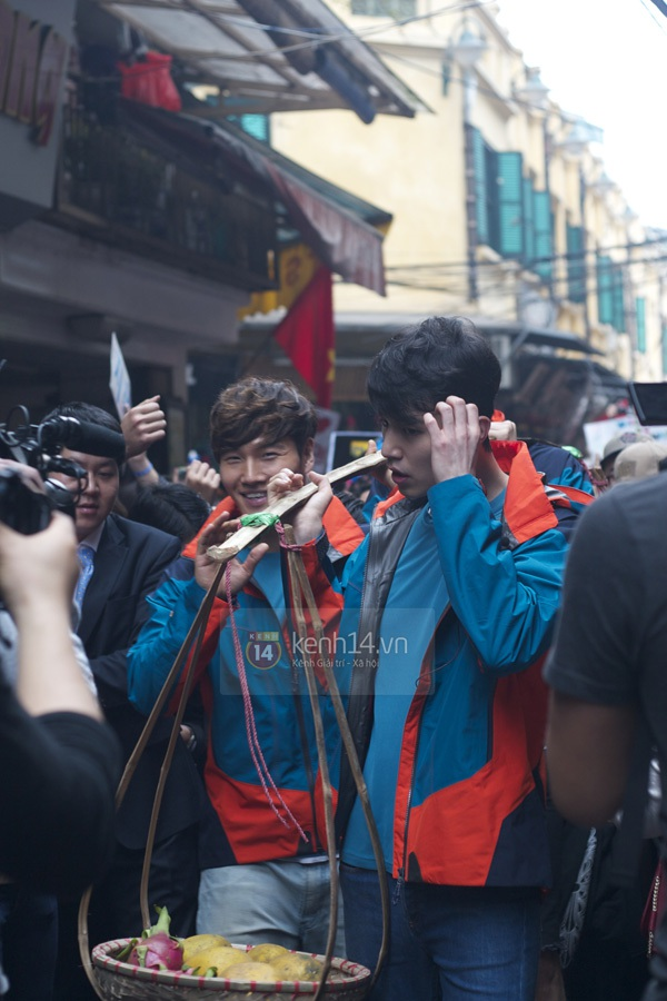 """Toàn cảnh ngày ghi hình đầu tiên ở Việt Nam của """"Running Man"""" 47"""