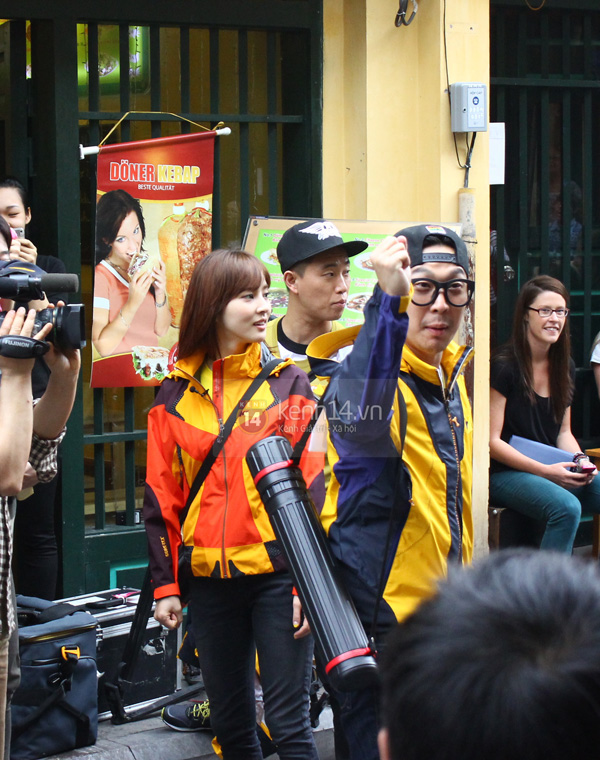 """Toàn cảnh ngày ghi hình đầu tiên ở Việt Nam của """"Running Man"""" 31"""