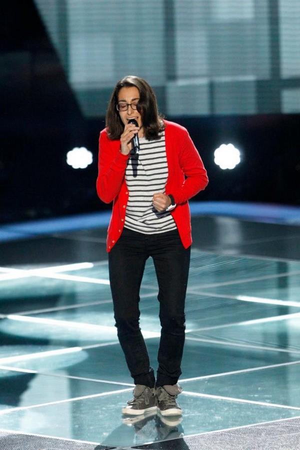 """The Voice US: Adam """"ngang nhiên"""" nẫng tay trên của Blake 7"""