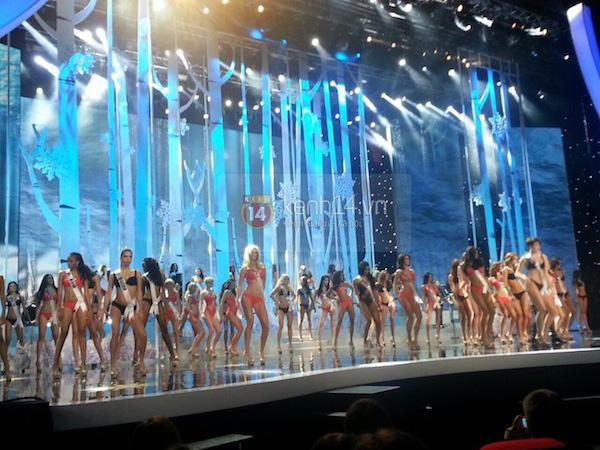 Độc quyền: Hình ảnh hiếm hoi buổi tổng duyệt Chung kết Miss Universe 2013 7