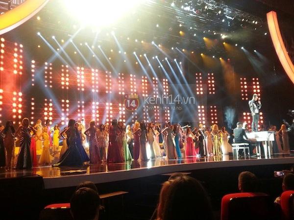 Độc quyền: Hình ảnh hiếm hoi buổi tổng duyệt Chung kết Miss Universe 2013 14