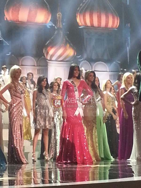 Độc quyền: Hình ảnh hiếm hoi buổi tổng duyệt Chung kết Miss Universe 2013 13