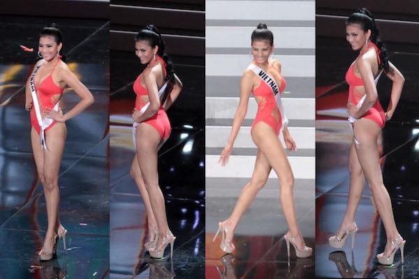 Trương Thị May tự tin tỏa sáng vòng Bán kết Miss Universe 2013 1