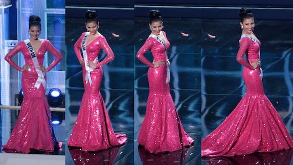 Trương Thị May tự tin tỏa sáng vòng Bán kết Miss Universe 2013 6