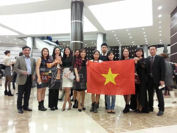 Trương Thị May tự tin tỏa sáng vòng Bán kết Miss Universe 2013 34